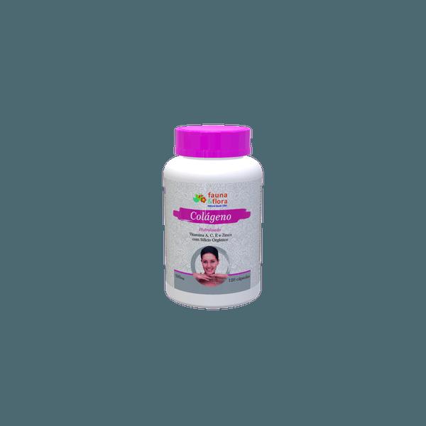 Colágeno Hidrolisado com Silício Orgânico e Vitaminas A, C, E e Zinco 500mg 120caps