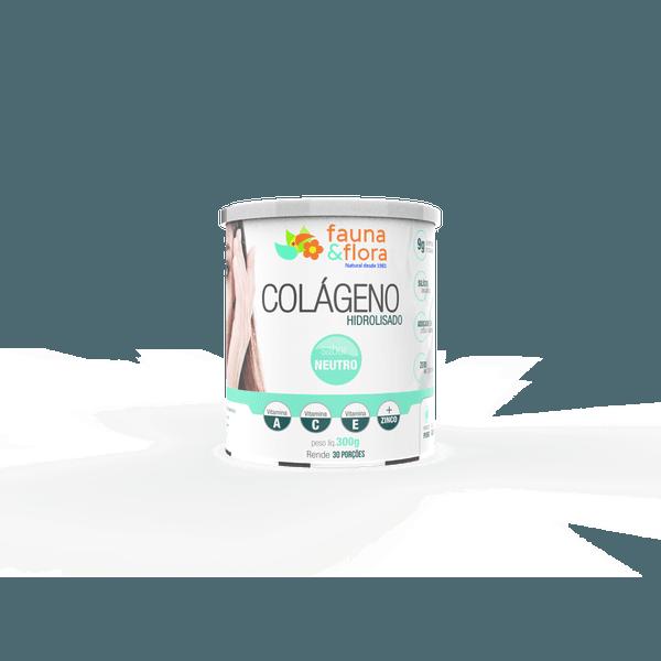 Colágeno Hidrolisado com Silício Orgânico zero Malto sabor Neutro 300g