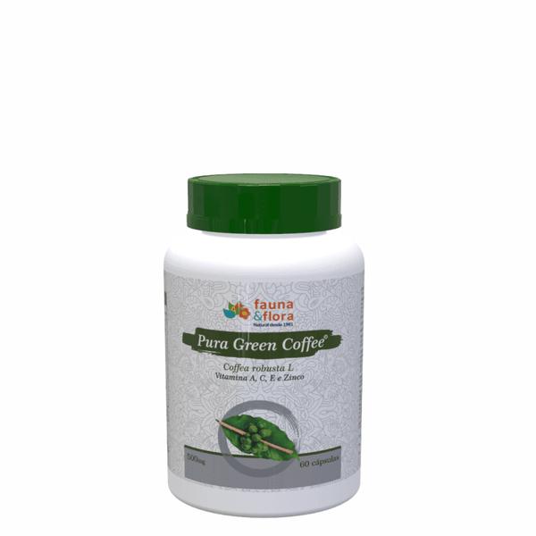 Pura Green Coffee Termogênico 500mg 60caps