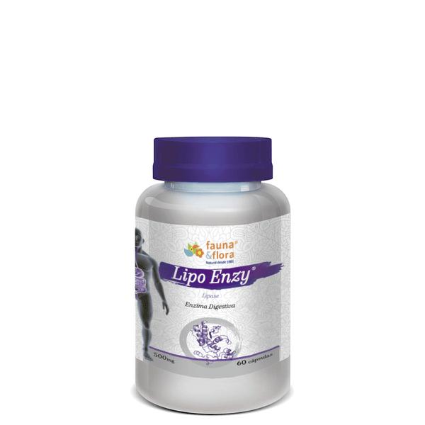 Lipo Enzy - Enzima Digestiva 500mg 60caps