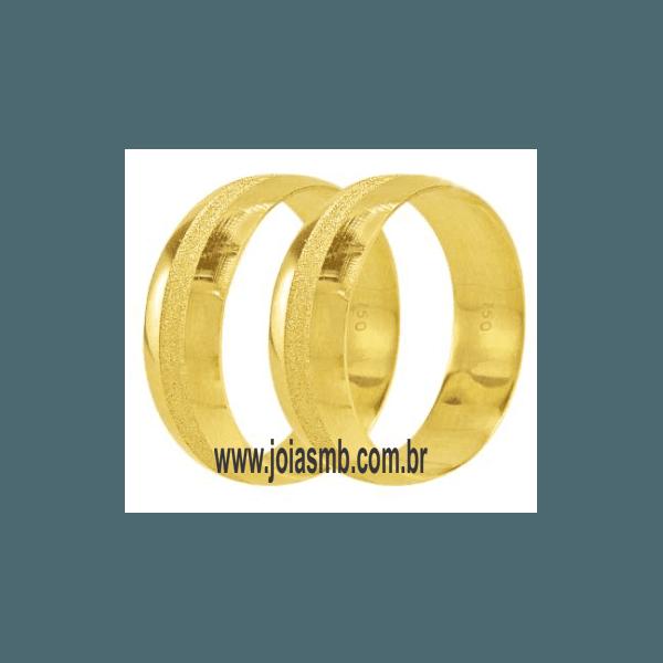 Alianças de Ouro Sorocaba 6,5mm