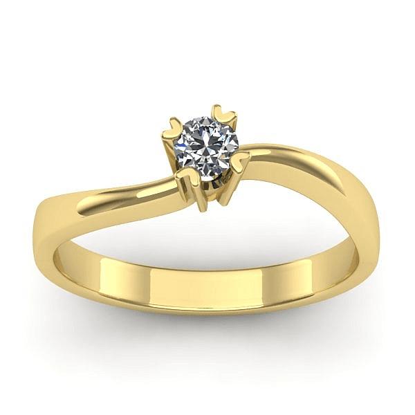 Anel Solitário de Diamante Caxias do Sul