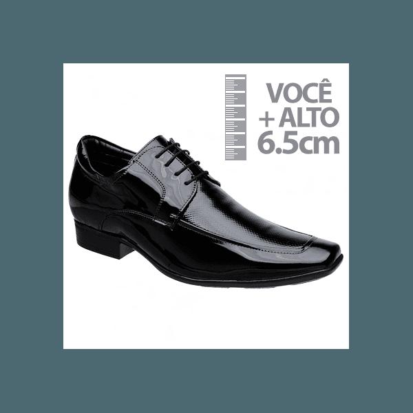 Sapato com Salto Interno Jota Pe Preto Air
