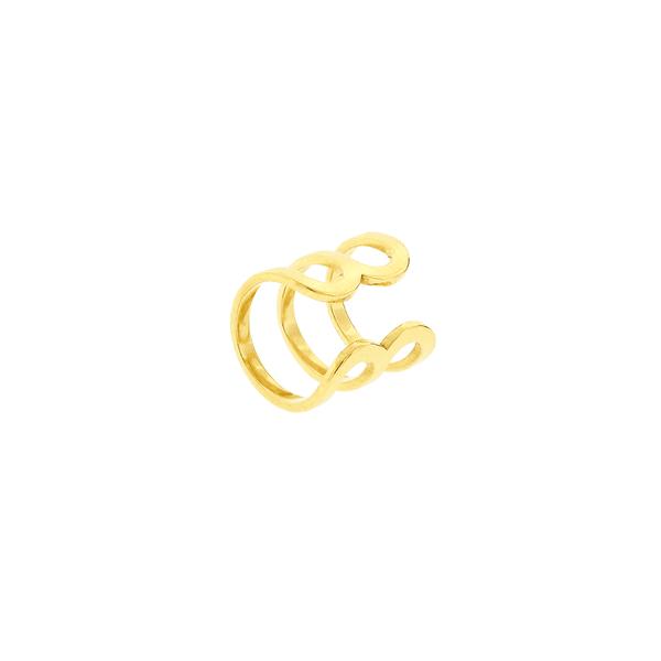 Piercing de Orelha Ouro 18K 3 Fios
