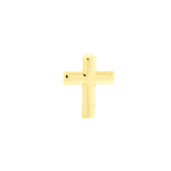 Pingente de Ouro 18K Cruz Polida