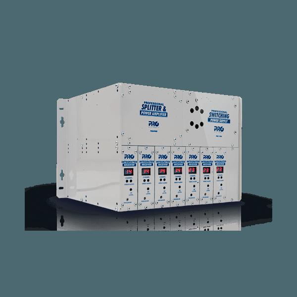 Amplificador e Combinador P/ Mini Rack Banda C