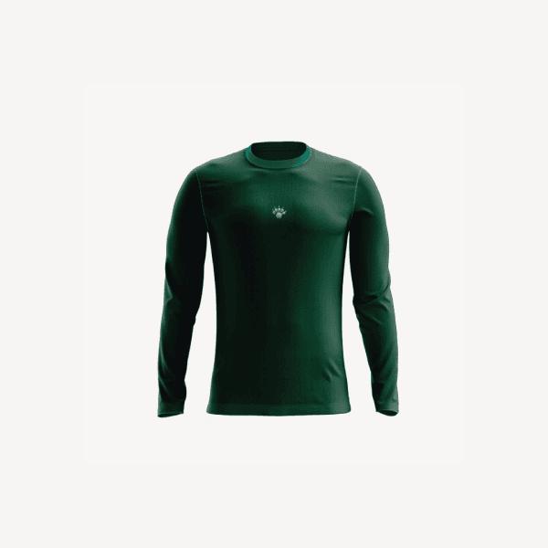Camisa UV Infantil Verde