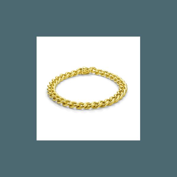 Pulseira Groumet em Ouro 18k