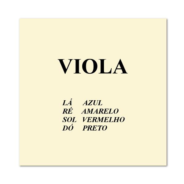 Corda Avulsa Para Viola De Arco Mauro Calixto