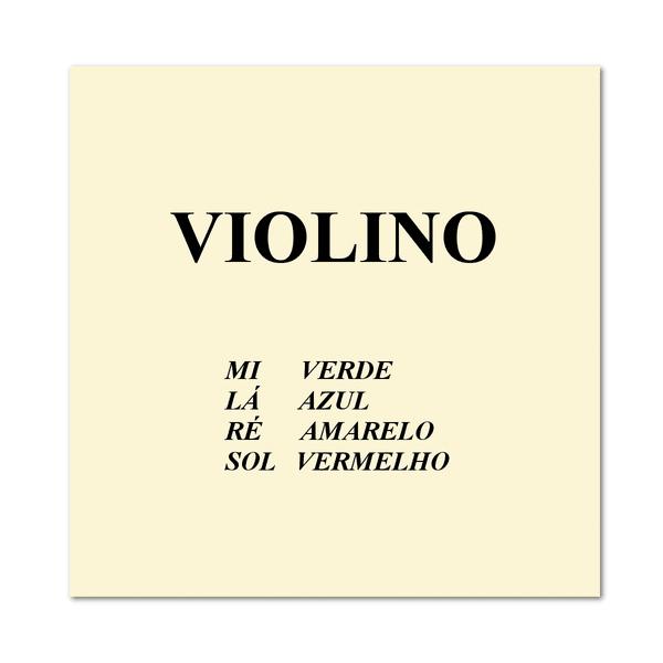 Cordas Avulsas Para Violino Mauro Calixto