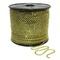 Corrente Ss8,5 / Pl18 - Pedra Hematite Dourado, Banho Dourado.