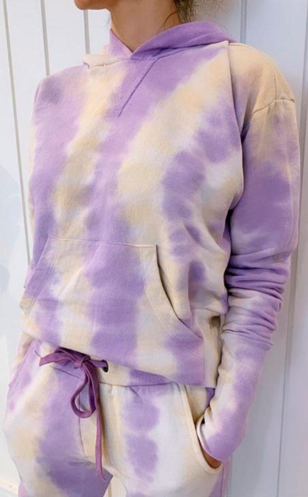 Tie Dye Sunset - Blusa Moletom - LEFAH