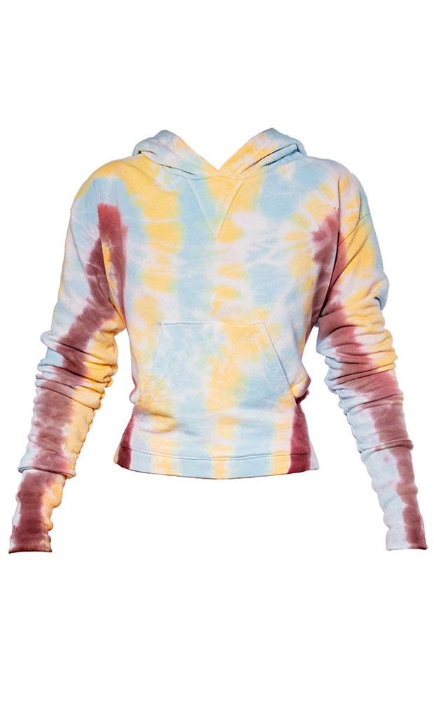Tie Dye Sunrise - Blusa Moletom - LEFAH