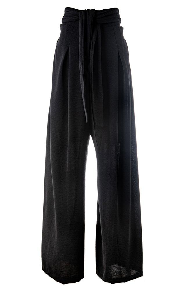 Classic Preto - Calça Pantalona Luma - LEFAH