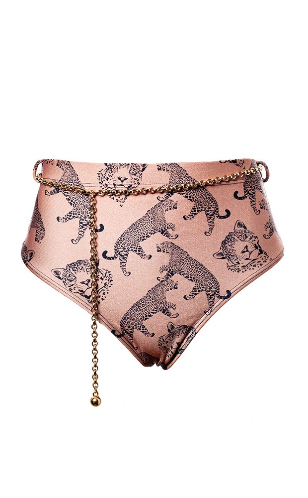 Luma Nude - Calcinha Hot Pant Cinto - LEFAH
