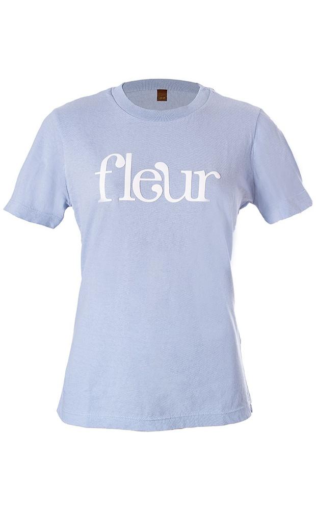 Fleur Azul - T-Shirt - LEFAH