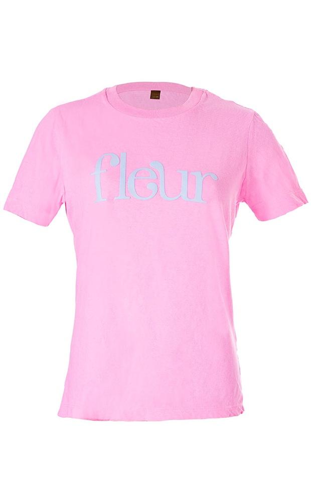Fleur Rosa - T-Shirt - LEFAH