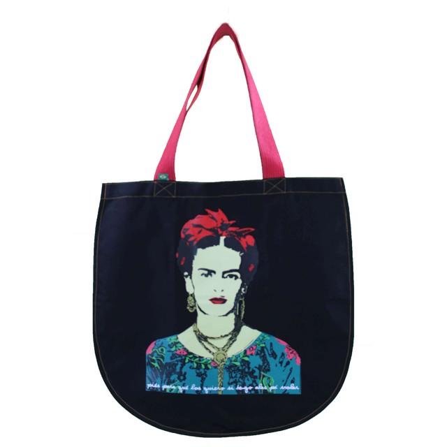 Bolsa Redonda Frida Kahlo Preta