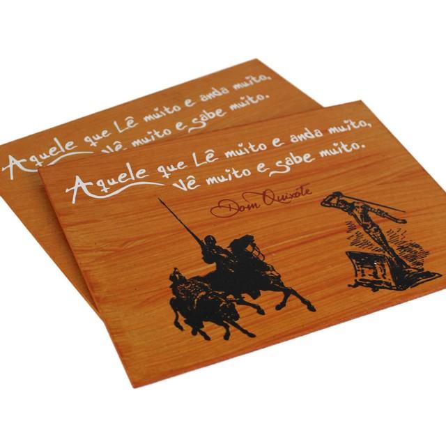 Quadrinho Dom Quixote Sabedoria