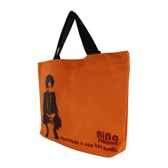 Book Bag Nina Simone Laranja