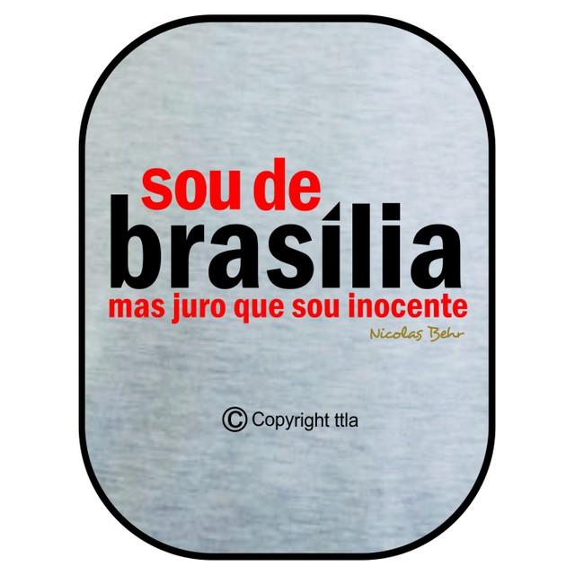 Camiseta Nicolas Behr Brasília Gelo
