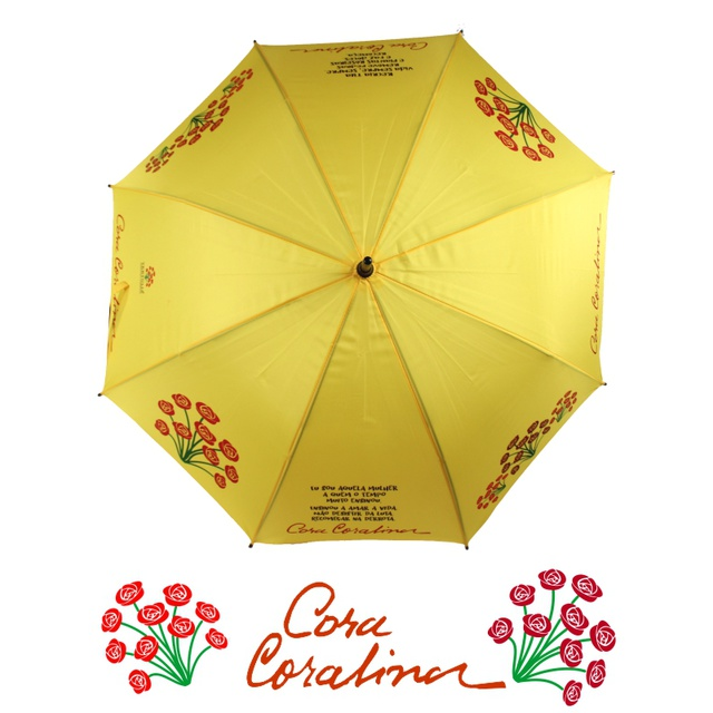 GUARDA-CHUVA CORA - Amarelo