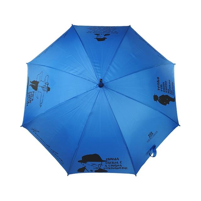 GUARDA-CHUVA LITERÁRIO - Azul
