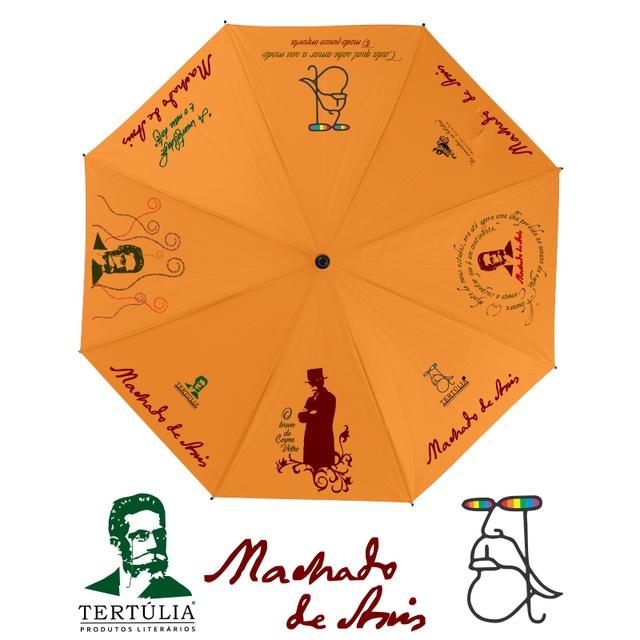 GUARDA-CHUVA MACHADO DE ASSIS - Laranja