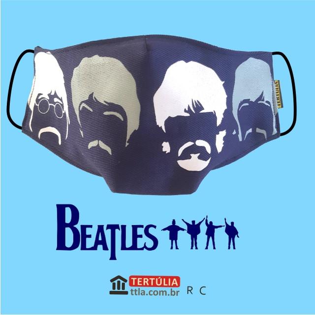 Máscara Poética Beatles Marinho