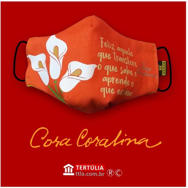 Máscara Poética Cora Coralina - Professor