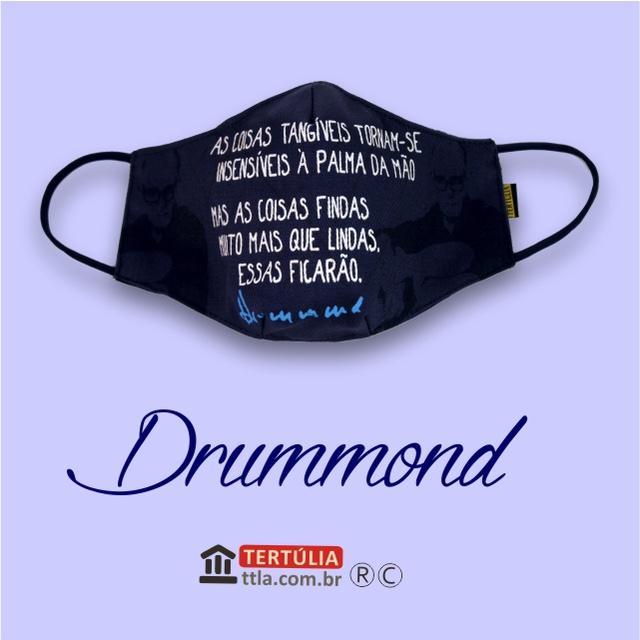 Máscara Poética Drummond - Marinho