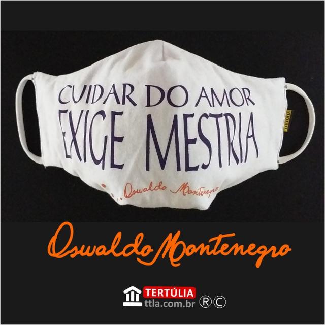 Máscara Poética Oswaldo Montenegro - Léo e Bia