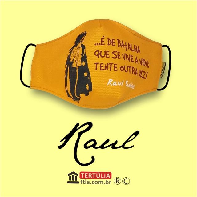 Máscara Poética Raul Seixas - Amarela