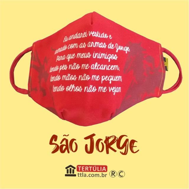 Máscara Poética Sâo Jorge Ogum