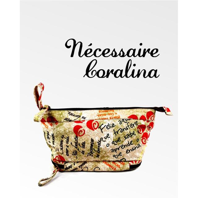 Nécessaire de Lona - Cora Coralina