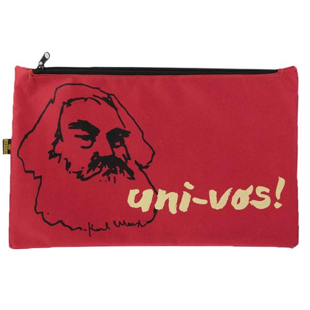 Nécessaire Karl Marx Vermelho