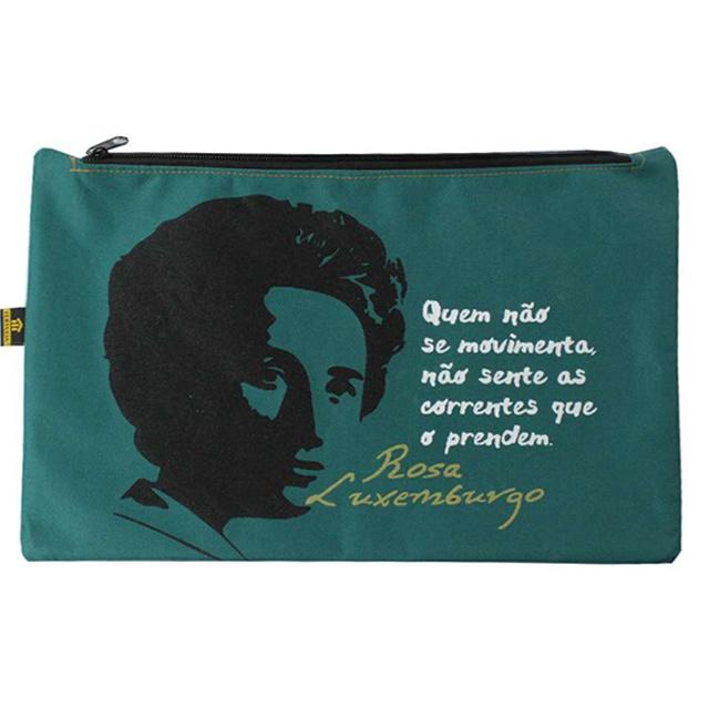 Nécessaire Rosa Luxemburgo Musgo