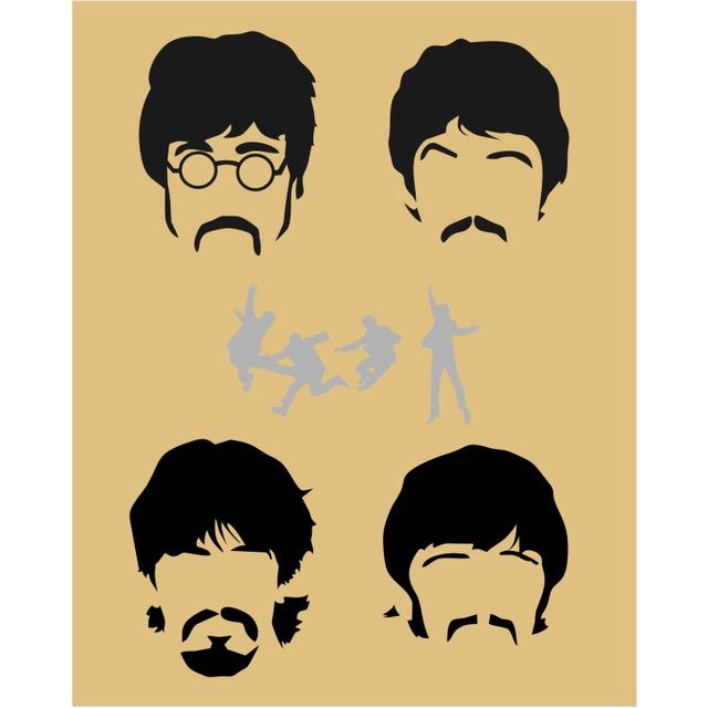 Bolsa Cantil Beatles Marrom