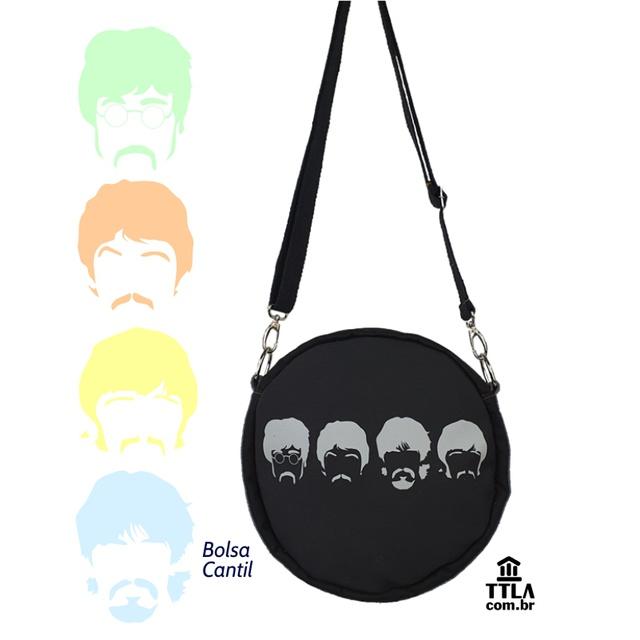 Bolsa Cantil Beatles preta