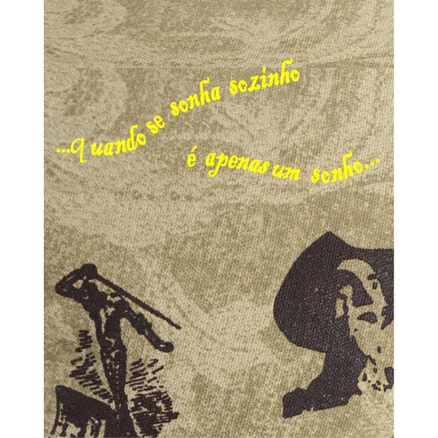 Bolsinha Cantil Dom Quixote - Verde