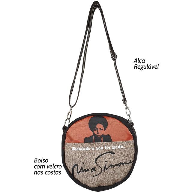 Bolsa Cantil Nina Simone cru