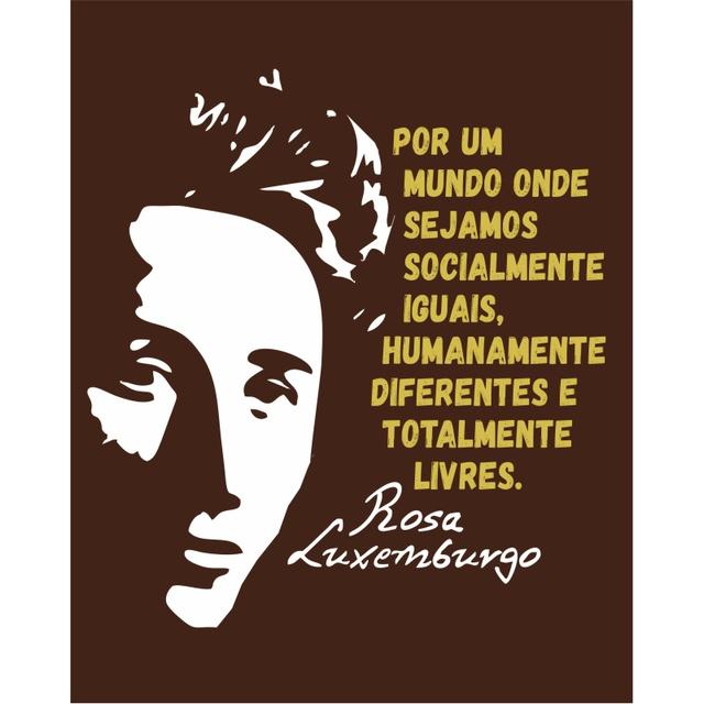 Bolsa Cantil Rosa Luxemburgo Marrom