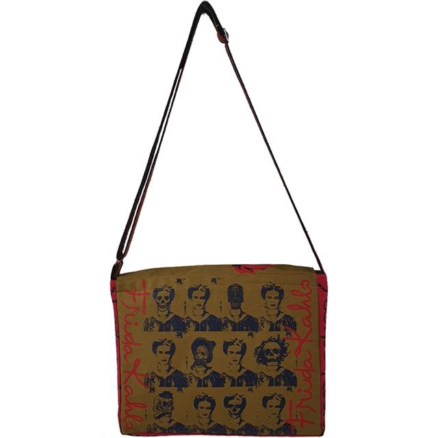 Bolsa Notebook Frida Kahlo Cru