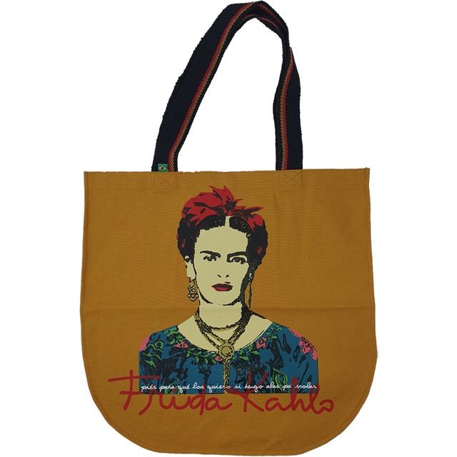 Bolsa Redonda Frida Kahlo Mostarda