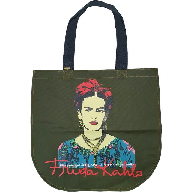 Bolsa Redonda Frida Kahlo Musgo