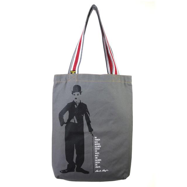 Bolsa Chaplin P Cinza