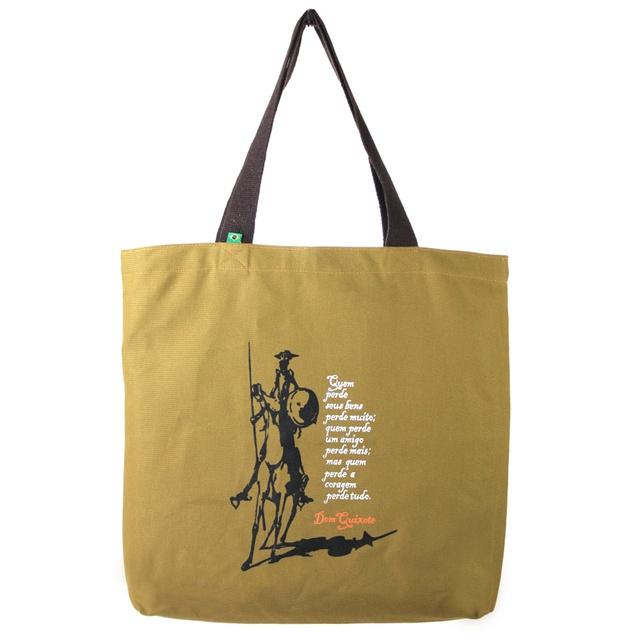 Bolsa Dom Quixote Coragem G Cru