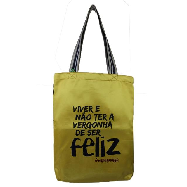 Bolsa Gonzaguinha P Amarela