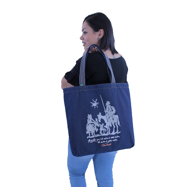 Bolsa Dom Quixote Marinho