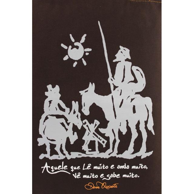 Bolsa Dom Quixote Marrom
